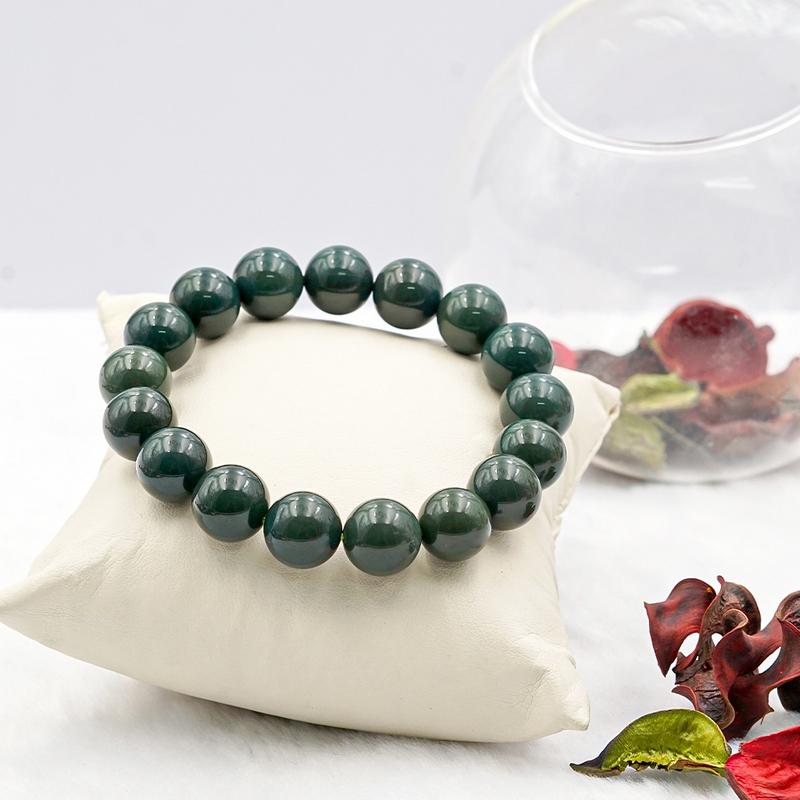 Vòng tay Ngọc Bích xanh tại Anqlo.vn